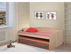 Кровать двухъярусная Адель - 5 ясень шимо темный/ясень шимо светлый