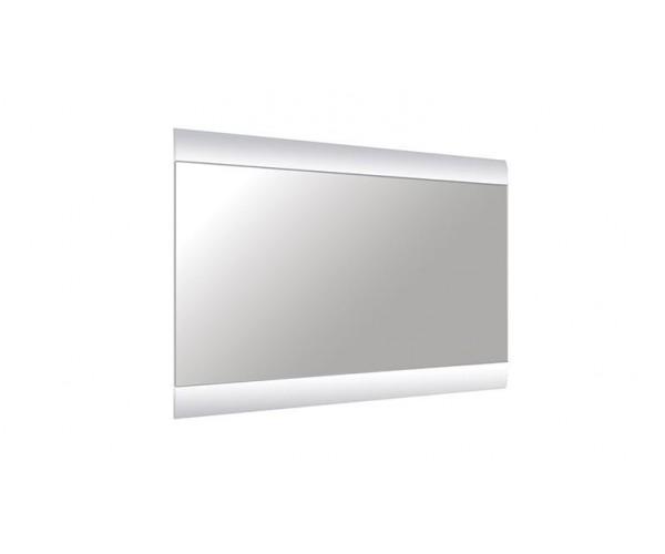Зеркало Камила венге/ПВХ белый глянец снег/зеркало