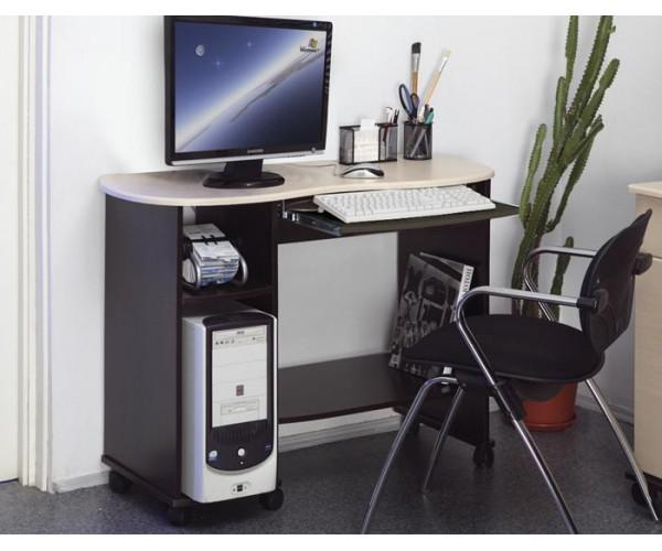 Компьютерный стол Костер - 3 венге/клен азия