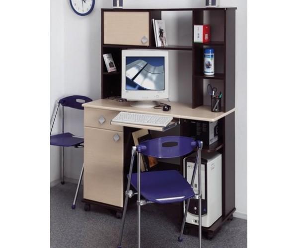 Компьютерный стол Костер - 6 венге/клен азия