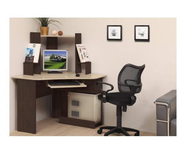 Компьютерный стол ПКС-7 венге/дуб линдберг