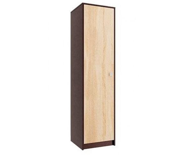 Шкаф для одежды 06.14-01 венге/ дуб сонома/ДВПО белый