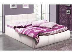 Кровать интерьерная Треви - 2 (1600) с подъемным мех. белый