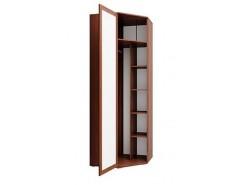 Шкаф комбинированный Моника 24.03 дуб кальяри/профиль дуб кальяри патина