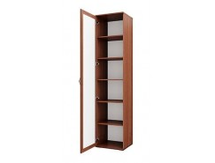 Шкаф комбинированный Моника 21.77 дуб кальяри/профиль дуб кальяри патина