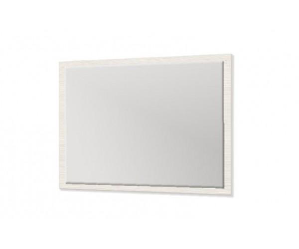 Зеркало навесное 06.26 Розалия 900х700х20 с фацетом вудлайн кремовый