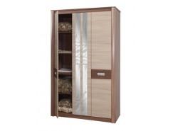 Шкаф для одежды Стелла 06.236 ясень шимо темный/ясень шимо светлый
