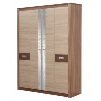Шкаф для одежды Стелла 06.235 ясень шимо темный/ясень шимо светлый