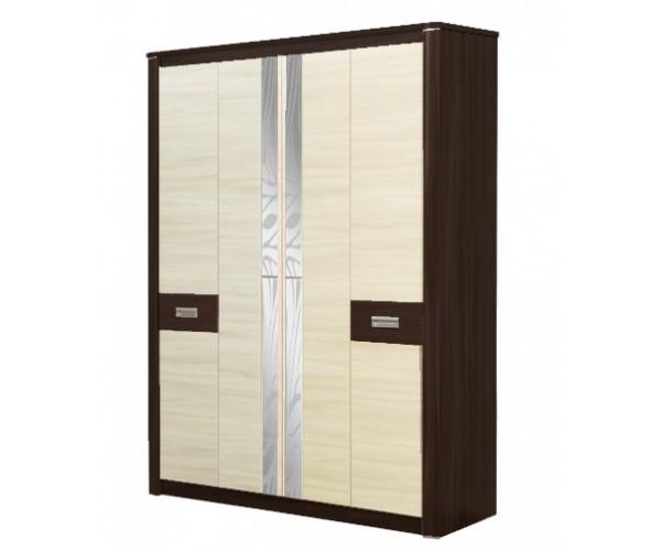 Шкаф для одежды Стелла 06.235 венге/дуб линдберг