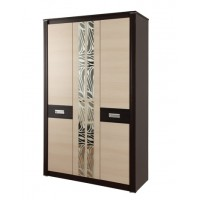Шкаф для одежды Стелла 06.236 венге/дуб линдберг