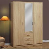 Шкаф для одежды Фриз 06.291 с зеркалом дуб сонома