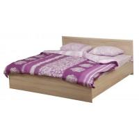 Кровать двуспальная Фриз 21.53 надо подъемный мех. (1600) дуб сонома