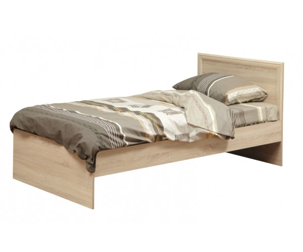 Кровать односпальная Фриз 21.55 с настилом (900) дуб сонома