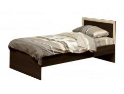 Кровать односпальная Фриз 21.55 с настилом (900) венге/дуб линдберг