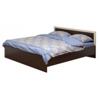 Кровать двуспальная Фриз 21.53 надо подъемный мех. (1600) венге/дуб линдберг