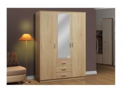 Шкаф комбинированный 06.291 с зеркалом дуб сонома