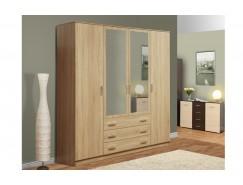 Шкаф комбинированный 06.292 с зеркалом дуб сонома