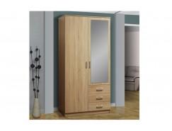 Шкаф комбинированный 06.290 с зеркалом венге