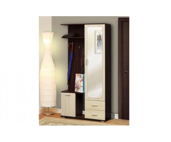 Кармен - 1 шкаф комбинированный венге/дуб линдберг