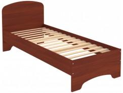 Кровать с ортопедическим основанием одноместная КМ08 итальянский орех