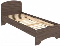 Кровать с ортопедическим основанием одноместная КМ08 ясень шимо