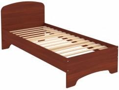 Кровать одноместная с ортопедическим основанием КМ09 итальянский орех