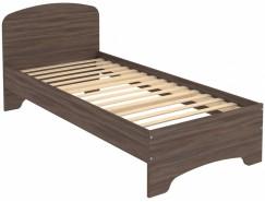 Кровать одноместная с ортопедическим основанием КМ09 ясень шимо