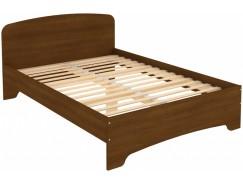 Кровать двухместная с ортопедическим основанием КМ14 дуб
