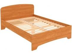 Кровать двухместная с ортопедическим основанием КМ14 ольха