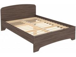 Кровать двухместная с ортопедическим основанием КМ14 ясень шимо