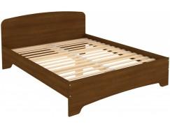 Кровать двухместная с ортопедическим основанием КМ16 дуб