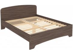 Кровать двухместная с ортопедическим основанием КМ16 ясень шимо