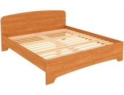 Кровать двухместная с ортопедическим основанием КМ18 ольха