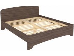 Кровать двухместная с ортопедическим основанием КМ18 ясень шимо