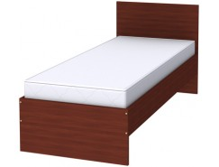 Кровать с ортопедическим основанием одноместная К08 итальянский орех