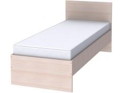 Кровать с ортопедическим основанием одноместная К08 молочный дуб