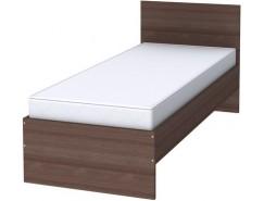 Кровать с ортопедическим основанием одноместная К08 ясень шимо