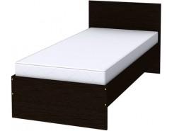 Кровать одноместная с ортопедическим основанием К09 венге