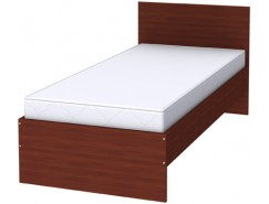 Кровать одноместная с ортопедическим основанием К09 итальянский орех