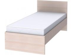 Кровать одноместная с ортопедическим основанием К09 молочный дуб
