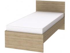 Кровать одноместная с ортопедическим основанием К09 дуб сонома