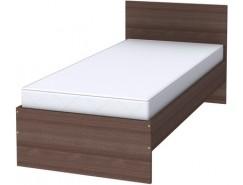 Кровать одноместная с ортопедическим основанием К09 ясень шимо