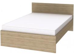 Кровать с ортопедическим основанием К14 дуб сонома