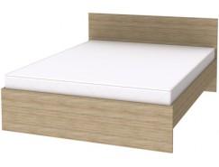 Кровать с ортопедическим основанием К16 дуб сонома