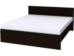 Двухместная кровать с ортопедическим основанием К18 венге
