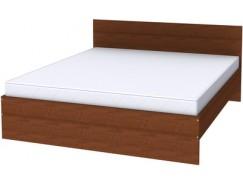 Двухместная кровать с ортопедическим основанием К18 дуб