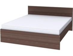 Двухместная кровать с ортопедическим основанием К18 ясень шимо