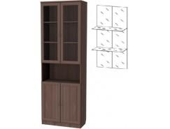 Шкаф для книг 207+С207 ясень шимо