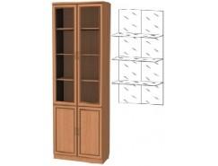 Шкаф для книг 206+С206 ольха