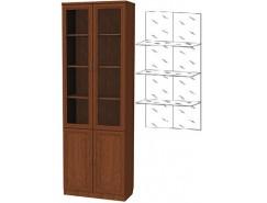 Шкаф для книг 206+С206 дуб